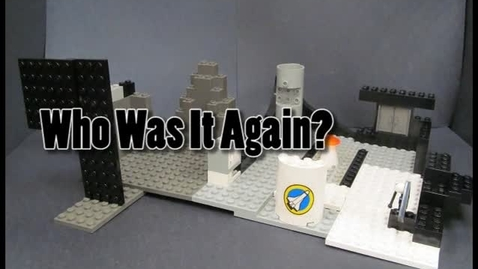 Thumbnail for entry Who Was It Again? - Animated Brickfilm