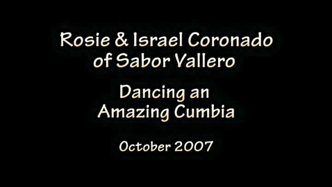 Thumbnail for entry Cumbia dance
