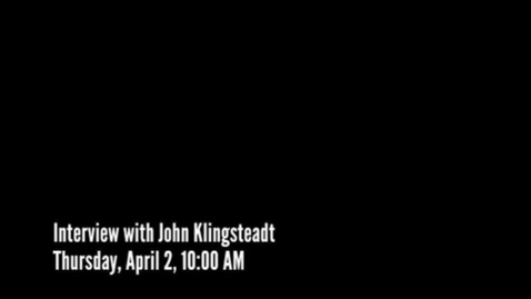 Thumbnail for entry An Interview Featuring Executive Director/Interim Head of School Mr. John Klingstedt