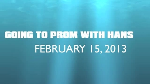 Thumbnail for entry Video Exclusive: Prom with Hans