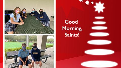 Thumbnail for entry Saints @ 8 - December 7, 2020