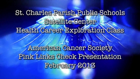 Thumbnail for entry PM Health Career Exploration Pink Links Check Presentation