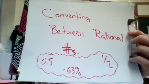 Thumbnail for entry Converting Between Rational Numbers