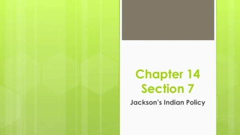 Thumbnail for entry Chapter 14 Section 7