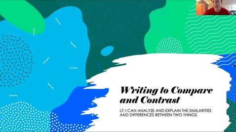 Thumbnail for entry Writing to Compare and Contrast