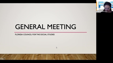 Thumbnail for entry FCSS Spring Virtual Conference GENERAL SESSION