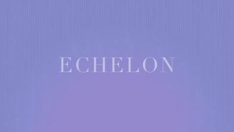 "Thumbnail for entry WordCast 2016: ""Echelon"""