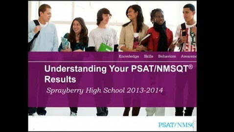 Thumbnail for entry PSAT 2014
