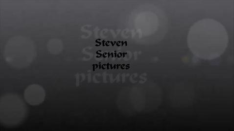 Thumbnail for entry Steven's Senior Photos
