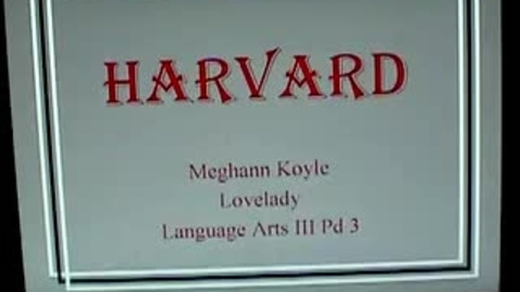 Thumbnail for entry Koyle's Harvard Presentation
