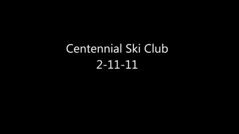Thumbnail for entry Centennial Ski Club