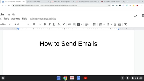 Thumbnail for entry Creating an Email