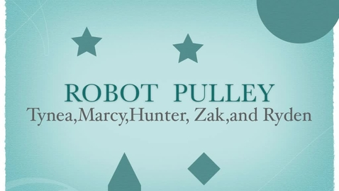 Thumbnail for entry Chikamori's Robot Pulley