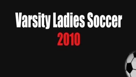 Thumbnail for entry Girls Soccer 2010