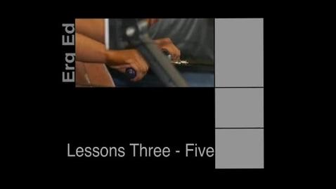 Thumbnail for entry Erg Ed Lessons 3-5
