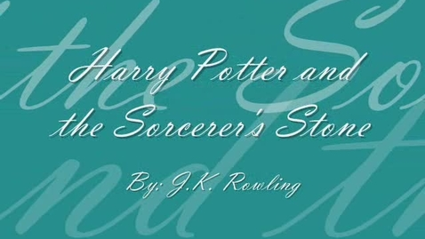 Thumbnail for entry Harry Potter Claymation Book Review