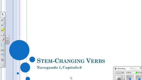Thumbnail for entry Navegando 1.6 Stem Changers Flip Video