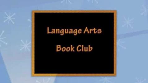 Thumbnail for entry Language Arts Book Club