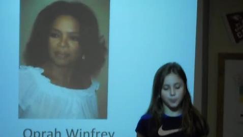 Thumbnail for entry Oprah Winfrey