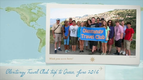 Thumbnail for entry Olentangy Travel Club educational tour to Greece, 2016