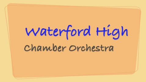 Thumbnail for entry 2010 Chamber Orchestra - October 09