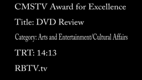 Thumbnail for entry DVD Review