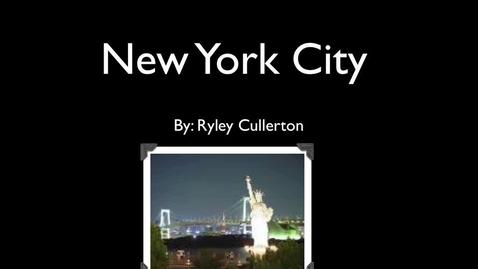 Thumbnail for entry Visit New York City