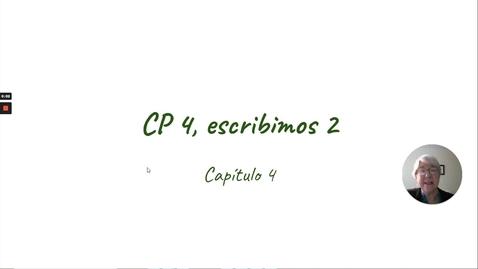 Thumbnail for entry CP 4 ESCRIBIMOS 2