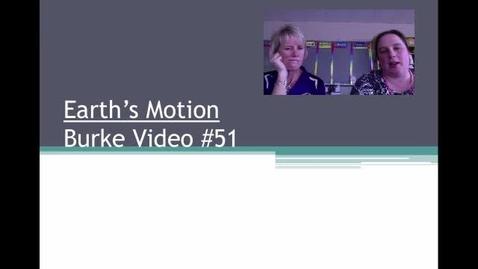 Thumbnail for entry Burke Video #51 Motion