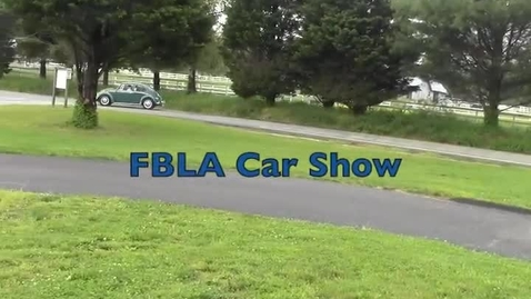 Thumbnail for entry FBLA Car Show