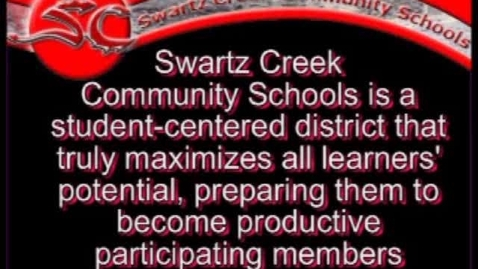 Thumbnail for entry Swartz Creek Community Schools