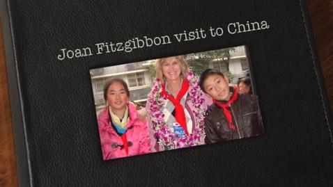 Thumbnail for entry Joan Fitzgibbon visits China