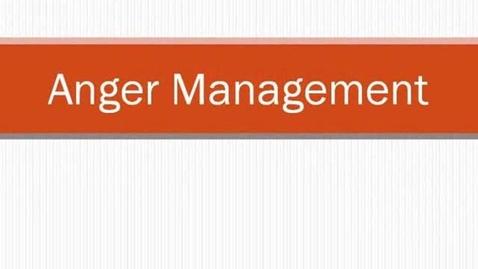 Thumbnail for entry Anger Management
