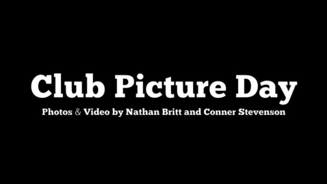 Thumbnail for entry Club Picture Day 11/4/11