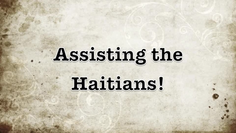 Thumbnail for entry What will you do to help? Haiti PSA