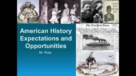 Thumbnail for entry Introduction to American History
