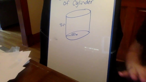 Thumbnail for entry Surface Area of Cylinder