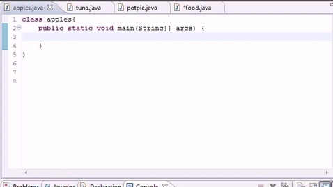 Thumbnail for entry Java Programming Tutorial - 49 - Inheritance