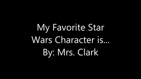 Thumbnail for entry Star Wars Clark