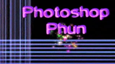 Thumbnail for entry photoshop Phun Lesson 5 - Make Funny Looking Animals