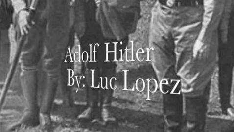 Thumbnail for entry Adolf Hitler