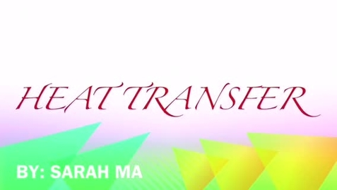Thumbnail for entry HEAT TRANSFER