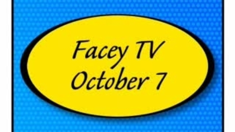 Thumbnail for entry Facey TV Oct. 7, 2010