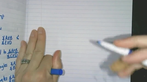 Thumbnail for entry Obj3c Vertical Angle Theorem
