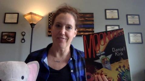 Thumbnail for entry Mrs. Adams Reading Moondoogs by Daniel Kirk_ Apr 24, 2020 2_05 PM