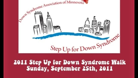 Thumbnail for entry Step up for Down syndrome