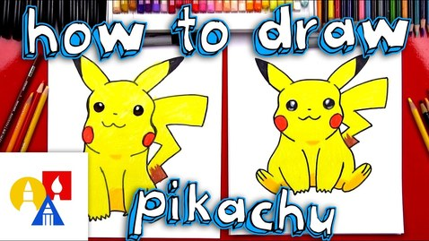 Thumbnail for entry How To Draw Pikachu (with color)