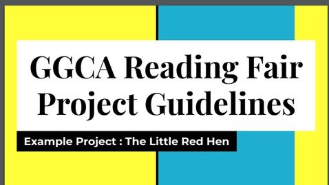 Thumbnail for entry Tuesday Reading Fair sections and guide