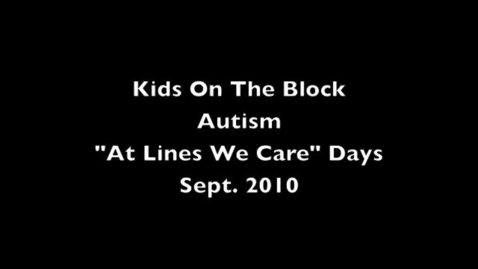 Thumbnail for entry Kids On The Block - Autism
