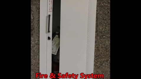 Thumbnail for entry Fire and Safety System - Fire Extinguishers